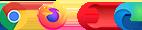 Rozszerzenie pasuje do przeglądarek Google Chrome, Mozilla Firefox, Opera, Microsoft Edge