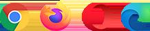 Rozszerzenie pasuje do przeglądarek Google Chrome, Mozilla Firefox i Opera